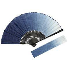 本藍染 扇子セット (全2種類) | 京扇子 紳士扇子 | | 白竹堂オンラインショップ
