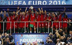 Despite losing Ronaldo after just 25 minutes, Eder's lone goal in extra time proved the difference as Portugal downed hosts France 1-0 to claim their first European Championship.