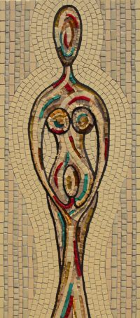 HEAVENLY MOTHER MOSAIC £395 incl. p&p