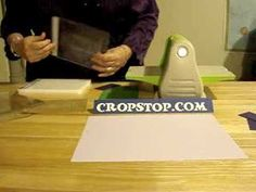 ▶ How to cut & emboss a Nestability Die in a Cuttlebug Machine - YouTube
