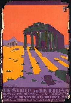 Vintage Travel Posters: Poster Design Inspiration