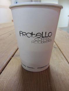 Fratello Coffee Company - Calgary Farmer's Market - best soy latte EVER! Soy Latte, Coffee Company, Friends In Love, Calgary, Farmers Market, Great Recipes, Mugs, Tableware, Food