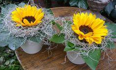 zonnebloemen bloemstukken - Google zoeken