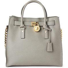 MICHAEL Michael Kors Large Hamilton Saffiano Tote - my newest bag addition!