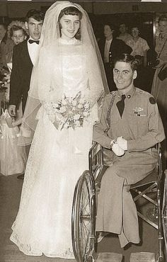 This 1950s wedding story is one of the most touching and poignant tales you'll ever read! http://www.reminisce.com/2012/09/wounded-korean-war-veteran-followed-his-heart/