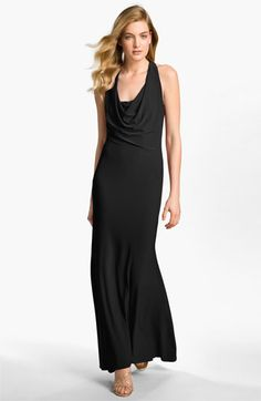 A.B.S. by Allen Schwartz Cowl Neck Jersey Gown available at Nordstrom