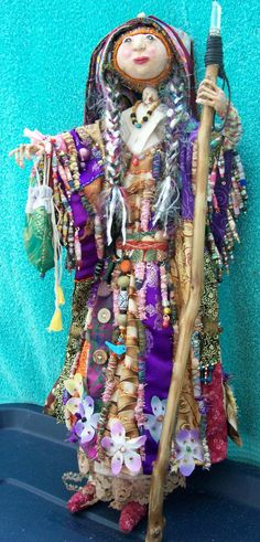 My arts practice includes art dolls, textile & mixed media art projects, scrapbooking, visual arts, figurative sculpture and eco craft upcycling. Paper Dolls, Art Dolls, Dolls Dolls, Native American Dolls, Spirited Art, Doll Maker, Doll Crafts, Beautiful Dolls, Love Art
