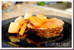 crockpot roast with tomato gravy