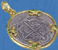 Atocha Shipwreck 1622 Coins Key West Atocha Piece Of Eight Pure Silver Cob Coin Jewelry atocha1622.com Atocha Treasure Company Of Florida Key West Outlets: From The Atocha Largest Selection Of Atocha Shipwreck Coin Jewelry On The Internet Found By Mel Fis