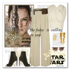 """""""Star Wars: The Force Awakens"""" by angelicallxx ❤ liked on Polyvore featuring Lee Mathews, Emilia Wickstead, Paula Mendoza, Gianvito Rossi, Dorothee Schumacher, Fendi, starwars, contestentry and theforceawakens"""