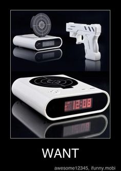 this would be a nice way to get up those people who are terrible in the mornings or those people whos alarm clocks dont wake them up.