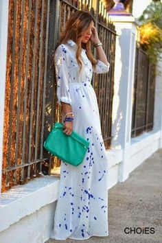 How to Chic: GET THE BLOGGERS LOOK - BOHO MAXI DRESS