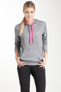 Reebok  Workout Ready Fleece Hood Sweater