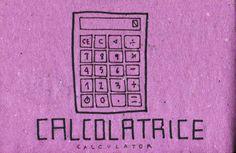Learning Italian Language ~ Calcolatrice (Calculator) IFHN