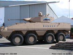 Badger ICV Infantry Combat Vehicle