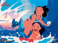 """Lilo & Stitch - """"Ohana means family, family means nobody gets left behind..or forgotton"""""""