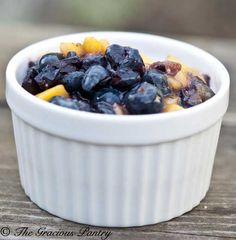 Clean Eating Blueberry Mango Salsa