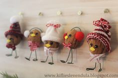 Fun Crafts For Kids, Christmas Crafts For Kids, Xmas Crafts, Diy Christmas Ornaments, Diy And Crafts, Arts And Crafts, Christmas Decorations, Autumn Crafts, Nature Crafts