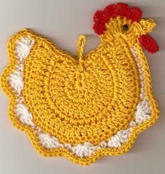 Buon giorno a tutte! ecco il terzo post dedicato alla Pasqua, oggi abbiamo in scena galline e pulcini!!! Come sempre ho scelto cose per tutti i gusti; iniziamo con questa bellissima gallina amigurumi diZodwollop di