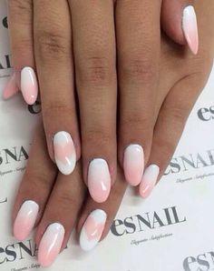 soft pink - so cute Es Nails, Nails Inc, Airbrush Nails, Japanese Nail Art, Professional Nail Art, Nail Shop, Nails Inspiration, How To Do Nails, Art Day