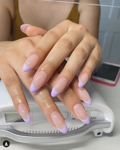 Acrylic Nails Coffin Short, Simple Acrylic Nails, Almond Acrylic Nails, Best Acrylic Nails, Cute Gel Nails, Chic Nails, Stylish Nails, Swag Nails, Cute Almond Nails