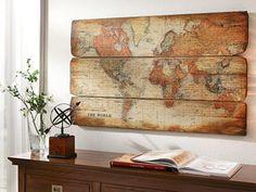 Bild »Weltkarte«