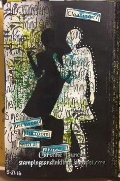 Caroline Duncan on THE DYAN REAVELEY ART JOURNALING Gateway FB Group.