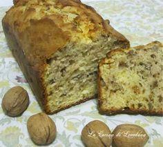 Plumcake alle noci con yogurt e miele | La cucina di Loredana