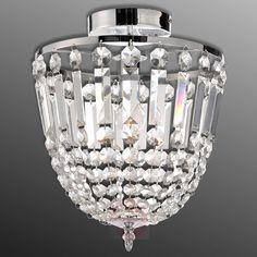 Sloped Ceiling, Ceiling Lights, Spotlights, Decoration, Chrome, Chandelier, Bulb, Lighting, Glass