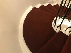 Spiral Staircase, Carpet Runner, Red Carpet, Spiral Stair, Rug Runner