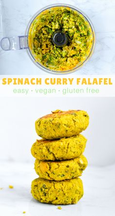 These baked #falafel are #vegan and #glutenfree. They are easy to make, healthy, and bursting with flavor. #healthyrecipe