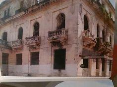 Hotel Comercio en ruinas