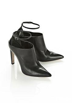 Audrey Bootie Black Refined Baby Calf Thumb