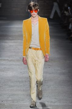 Alexander McQueen Spring 2012 Menswear