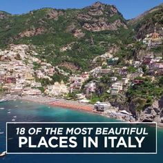 From Lake Como to the Amalfi Coast, these are the most beautiful places in Italy.