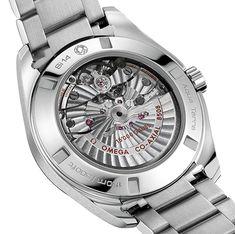 An Impressive Legacy of Horological Innovation OMEGA Seamaster Aqua Terra > 15'000 gauss (See more at: http://watchmobile7.com/articles/omega-seamaster-aqua-terra-15-000-gauss) (5/5) #watches #omega #omegawatches @Omega Hedgepeth Watches @Omega Hedgepeth Watches