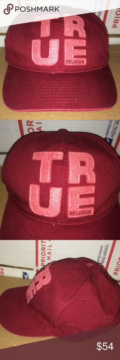 fa418322829 TRUE Religion Hat cap vintage Unisex Jean Tee shir UP is a nice