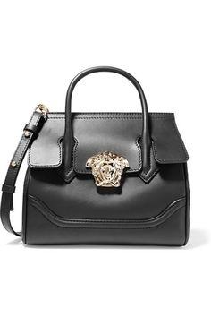 a34118d0b193 VERSACE Leather Shoulder Bag.  versace  bags  shoulder bags  leather  Versace Purses