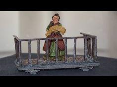 Como hacer encolados en movimiento - YouTube Diorama, Tutorial, Painting, Youtube, Home, Nativity Scenes, Miniatures, Template, Plants