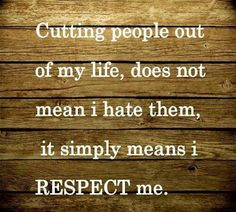 Thirteen Rules for Dealing with Sociopaths in Everyday Life: Rule #6 Redefine Your Concept of Respect