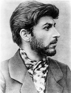 Josef Stalin as a young revolutionary in 1900. I find this photo interesting because he looks like he is a throughly modern guy...haircut and beard.