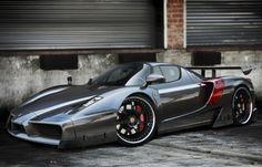 Enzo Ferrari grey