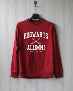 Hogwarts Alumni Maroon Crewneck - Freshtops Marketplace Harry Potter Themed  Gifts 3e605602e55d