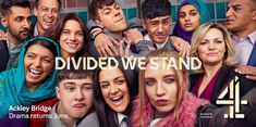 Channel 4 has released a poster campaign in the Asian languages of Urdu and Mirpuri to promote the second series of its drama Ackley Bridge. Divided We Stand, Ackley Bridge, Bridge Wallpaper, Shows On Netflix, Creative Words, Movies Showing, Tv Shows, Channel, Drama