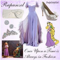 Disney Style: Rapunzel, created by trulygirlygirl