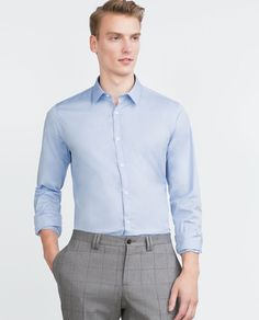 Discover the new ZARA collection online. The latest trends for Woman, Man, Kids and next season's ad campaigns. Formal Shirts For Men, Men Formal, Zara, Shirt Dress, Mens Tops, Dresses, Women, Image, Fashion