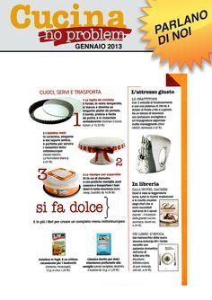 Cucina no problem #magazine #bakeaway