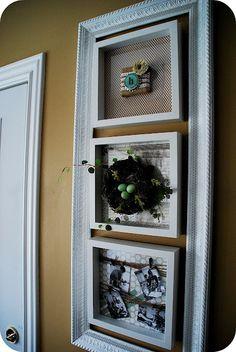Cute Spring DIY Wall Decor.