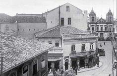 Café Girondino, rua Direita com 15 de novembro. Inaugurado em 1875