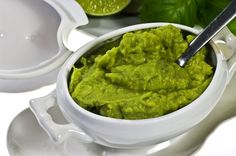 Make with cut in 3/ green, red, orange, yellow bell peppers as scoops. This Pea and Avocado Dip is DELICIOUS!